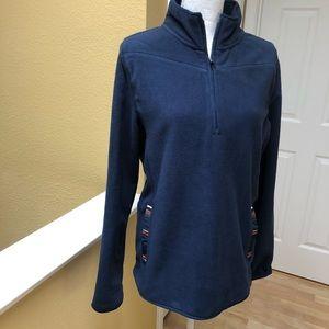 NWT - Pendleton Navy Fleece Pullover
